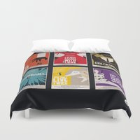 bond Duvet Covers featuring Bond #1 by Alain Bossuyt
