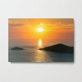 Pontal do Atalaia Sunset Metal Print