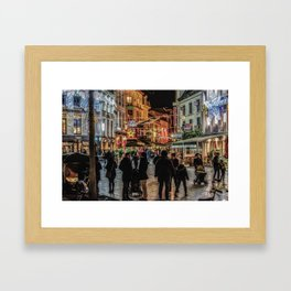 Light in the Night Framed Art Print