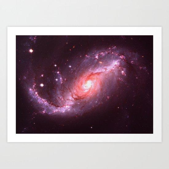 Your Own Galaxy Art Print