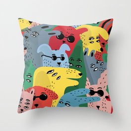 CELEBRATING EACH OTHER Throw Pillow