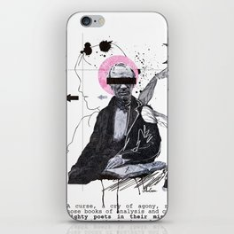 Mighty Poets in Their Misery Dead iPhone Skin