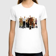 Firefly/serenity crew SMALL White Womens Fitted Tee