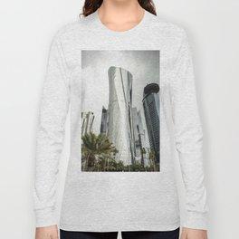 doha skyline Long Sleeve T-shirt