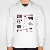 love quotes Hoodies featuring Fringe Quotes by CLM Design
