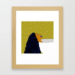 Just Gimme A Tub Framed Art Print