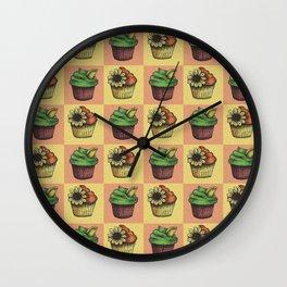 Cupcake Design Wall Clock