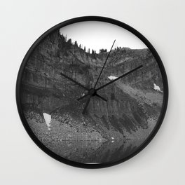 Marion Lake reflections Wall Clock