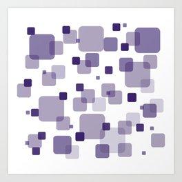 Purple Box Art Print