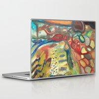 sasquatch Laptop & iPad Skins featuring Sasquatch by Dena Nord