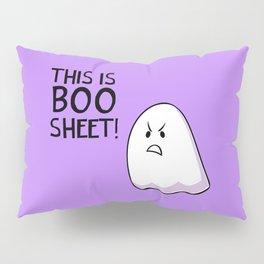 Grumpy Ghost Pillow Sham