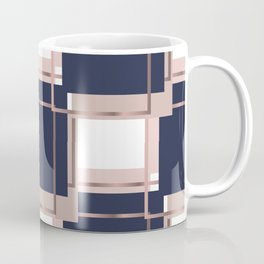 Abstract luxury Square pattern Coffee Mug