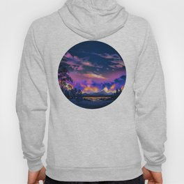 Night Sky Sunset Hoody