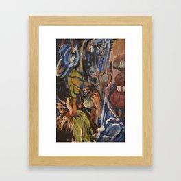 StaatBirdTrip Framed Art Print