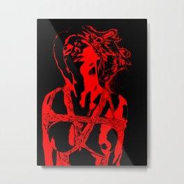 Abstract rope play Metal Print