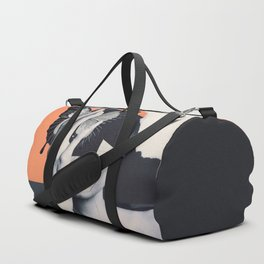 collage art / butterfly Duffle Bag