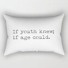 Sigmund Freud quote 23 Rectangular Pillow