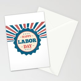Happy National Labor Day Stationery Cards