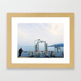 SOMEWHERE IN ITALY - 1 Framed Art Print