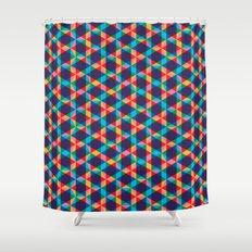 BP 78 Star Hexagon Shower Curtain
