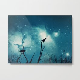 Attempted Murder At Midnight Metal Print