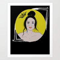 The Cerberus Queen Art Print