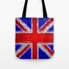 Union Jack Flag Fratilius Tote Bag