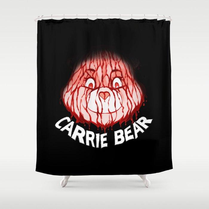 Carrie Bear Shower Curtain