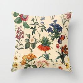 Secret Garden V Throw Pillow