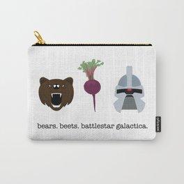 BEARS. BEETS. BATTLESTAR GALACTICA. Carry-All Pouch
