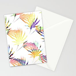 Vibrant Jungle Palmetto Fronds Stationery Cards
