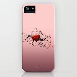 Pretty Little Liars fan heart iPhone Case