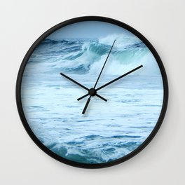 Rolling Green Surf Wall Clock