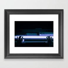 glow me. Framed Art Print