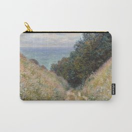Road at La Cavée, Pourville by Claude Monet Carry-All Pouch