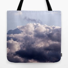 Purple skies Tote Bag