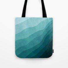Stratum 2 Aqua Tote Bag