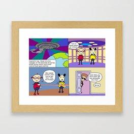 Star Trek The Eric Generation. Framed Art Print