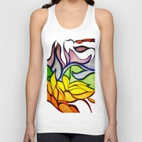waves Tank Tops featuring Waves by Aaron Carberry