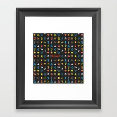 I [heart] Nostalgia Framed Art Print