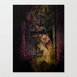 in the house of flies Canvas Print
