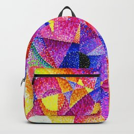 Spherical Expansion of Light No. 2, Centripetal and Centrifugal by Gino Severini Backpack