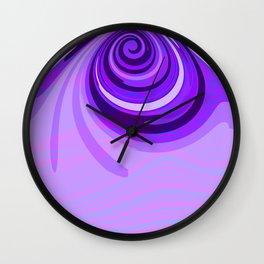 zedz purp Wall Clock
