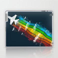 Colored Flight Laptop & iPad Skin