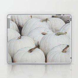 White Pumpkins Laptop & iPad Skin