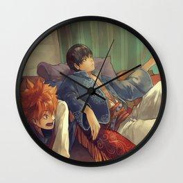 Haikyuu Karasuno Wall Clock