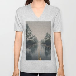 road home Unisex V-Neck