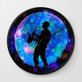 Jazz #1 Wall Clock