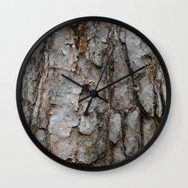 Natural Bark Wood Photo Wall Clock
