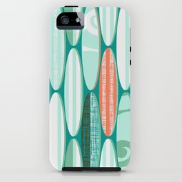 Simply Surf Boards iPhone Case